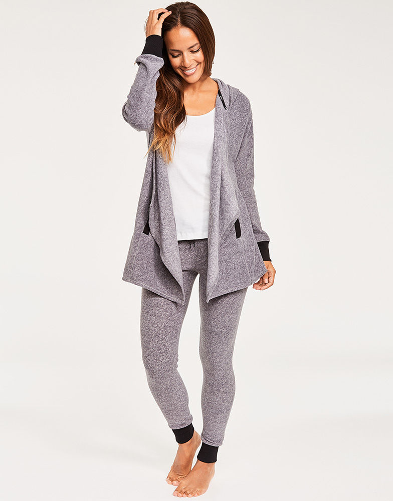 Stretch Loungers Hooded Cozy and Leggings DKNY Figleaves