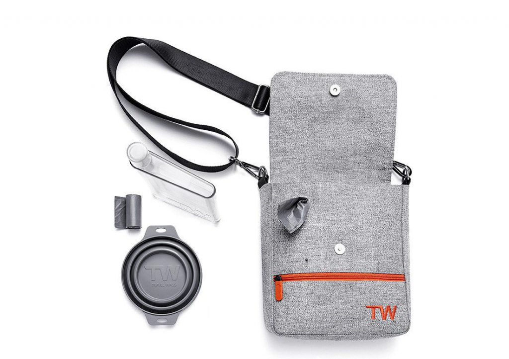 Travel Wags The Walker Set Dog Walking Bag and Weekend Bag