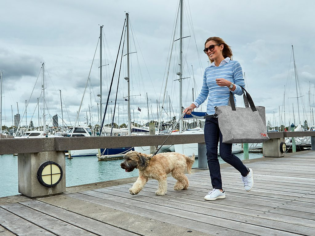 Travel Wags The Dog Walking and Weekend Tote Bag