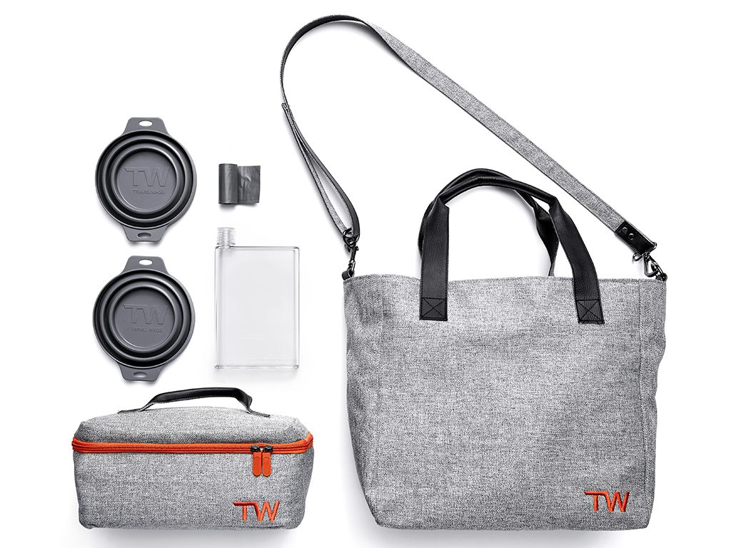 Travel Wags The Tote Set Dog Walking and Weekend Bag