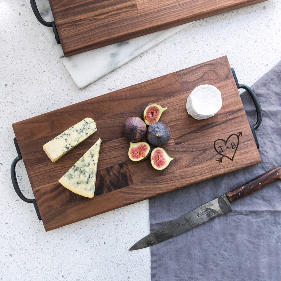 Personalised Wooden Chopping Board / Cheese Board Dust and Things Notonthehighstreet