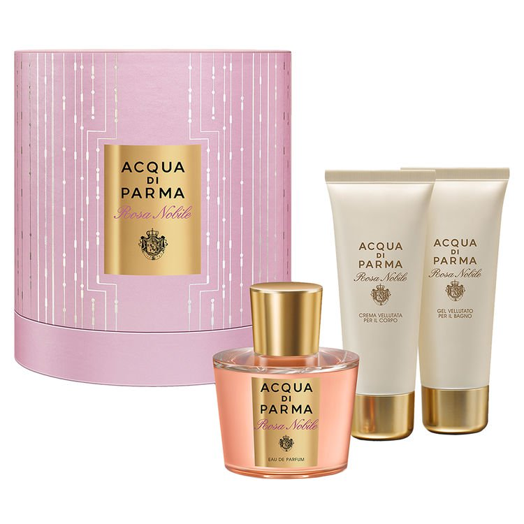 Acqua Di Parma Rosa Nobile Christmas Gift Set SpaceNK Apothecary London