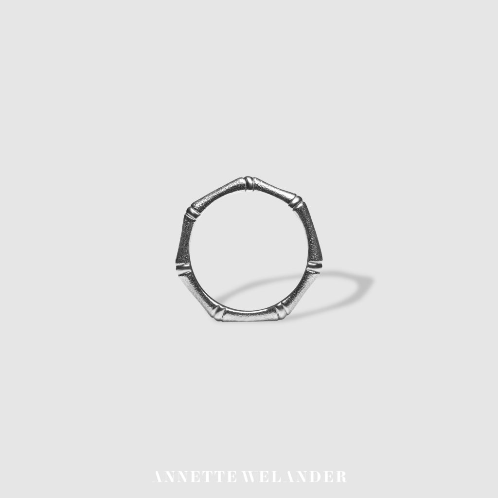 Bamboo Collection Ring Annette Welander Jewellery