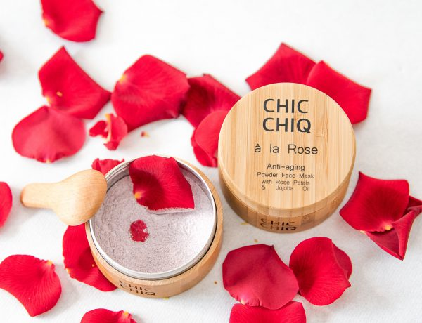 CHICCHIQ A la rose powder face mask