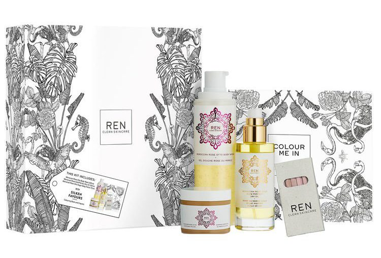 REN Moroccan Rose Exclusive Set SpaceNK Apothecary London