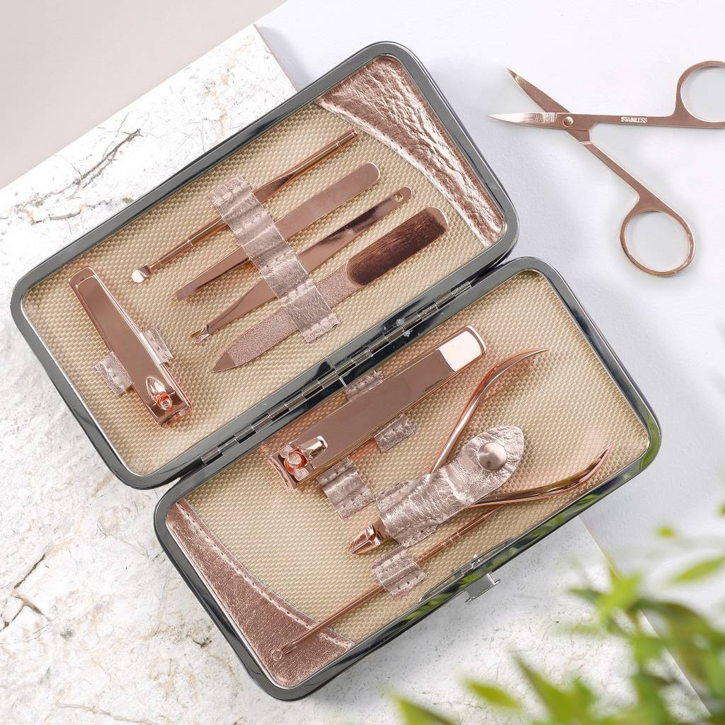 Personalised Ladies Manicure Set Ginger Rose Not On The High Street