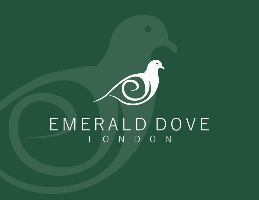 Emerald Dove London Accent Scatter Cushions and Scented Home Accessories