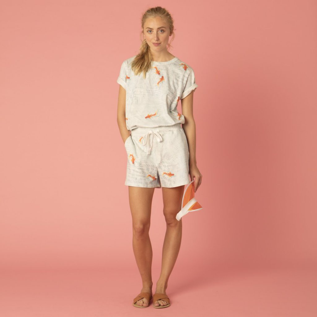 Goldfish Pyjamas For Her SNURK For Horizontal Living