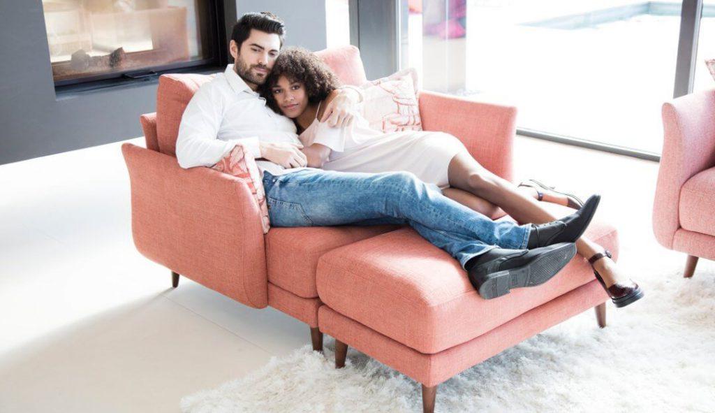 Large Armchair Love Seat Darlings of Chelsea