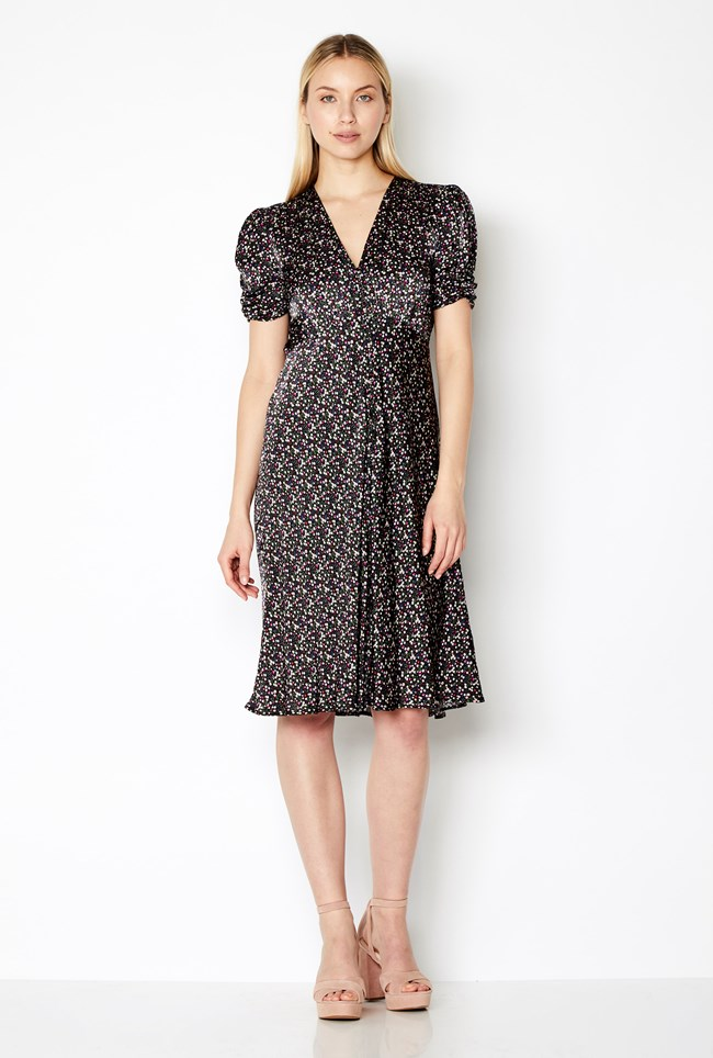 Sabrina Dress Ditsy Ghost London