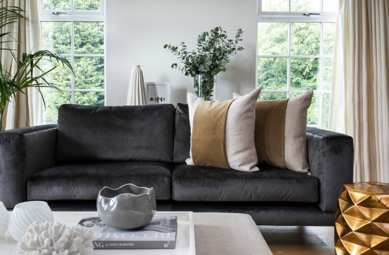 The Darcey 3 Seat Sofa Kelly Hoppen