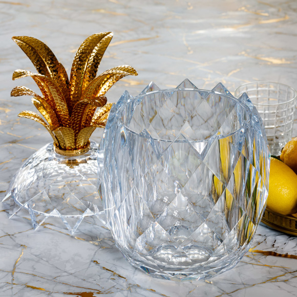 Nisi Living Ananas Acrylic Pineapple Ice Bucket