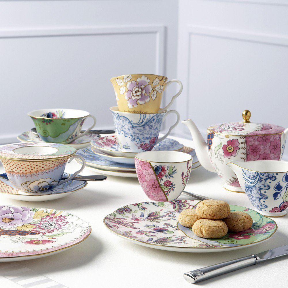 Wedgwood Butterfly Bloom Afternoon Tea Collection