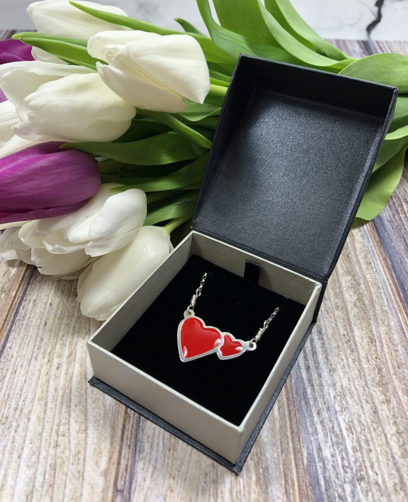 Charlie Delta Jewellery Double Heart Necklace