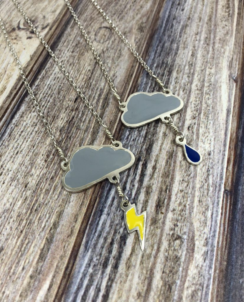 Charlie Delta Jewellery Cloud Pendants