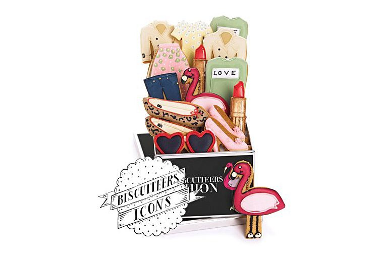 Biscuiteers Fashionista Luxe Biscuit Tin Mothers Day