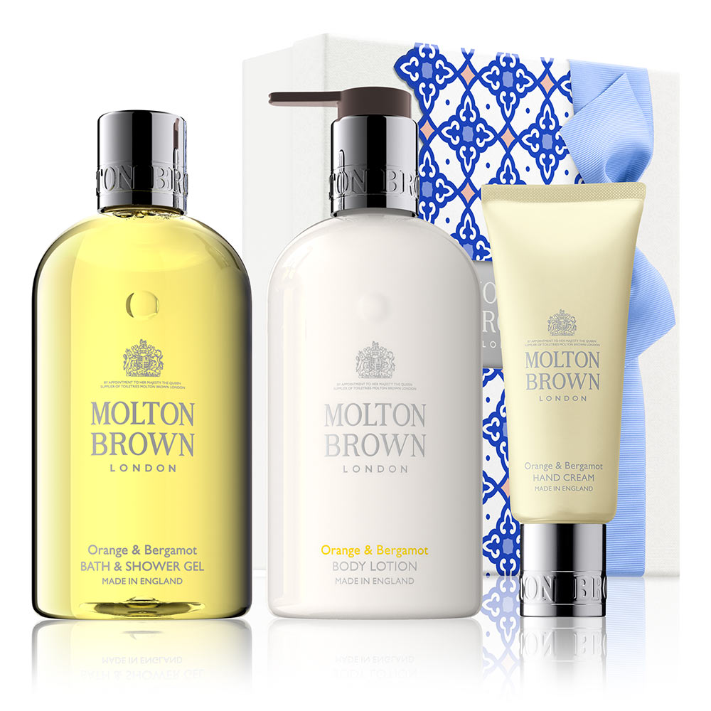 Molton Brown Orange & Bergamot Pamper Gift Set