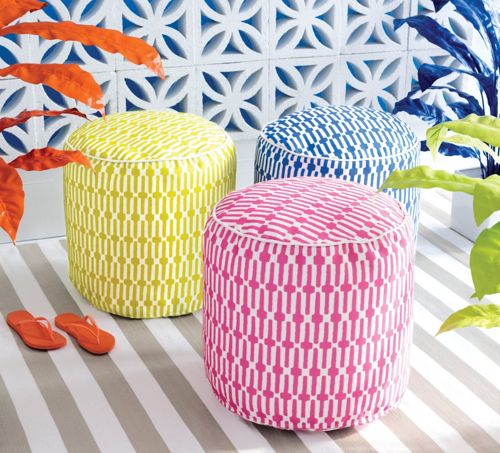 Links Indoor and Outdoor Pouffe Nisi Living