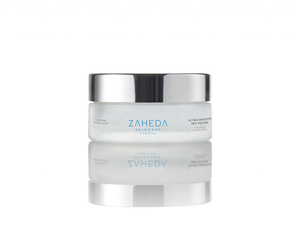 Ultra Smooth Sea Polish Exfoliator Scrub Zaheda Skincare