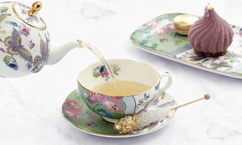Wedgewood Butterfly Bloom Collection Afternoon Tea Party Tableware