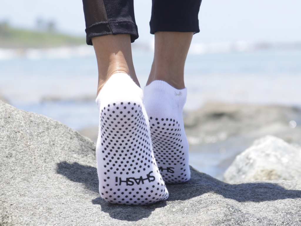 SHASHI Cool Feet Socks White