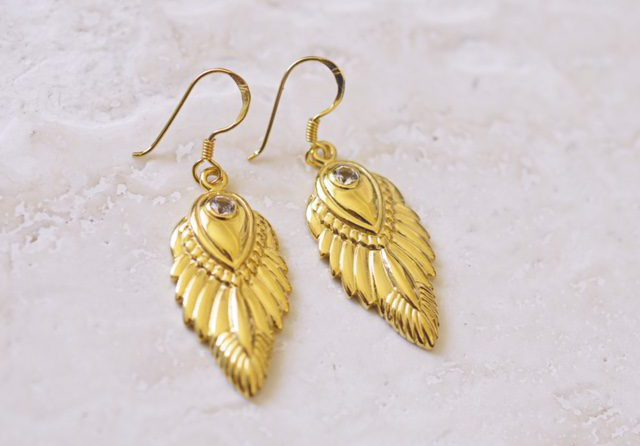 Celestial Wisdom Earrings Feminine Strength Collection Seven Saints