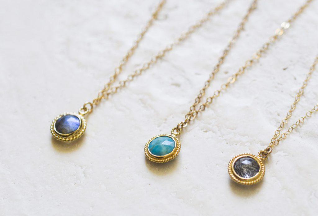 Gemstone Basics Collection Seven Saints Necklaces