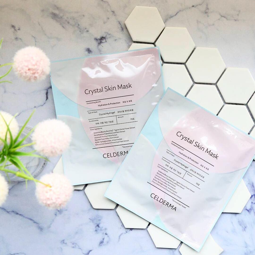 Mask Time Celderma Crystal Skin Mask