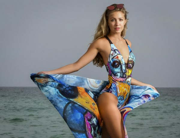 KARO Swimwear Mathieu Jean Artist Collection