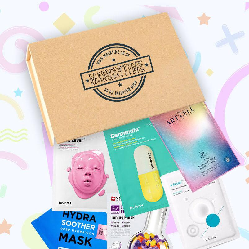 Mask Time Korean Sheet Mask Subscription Box