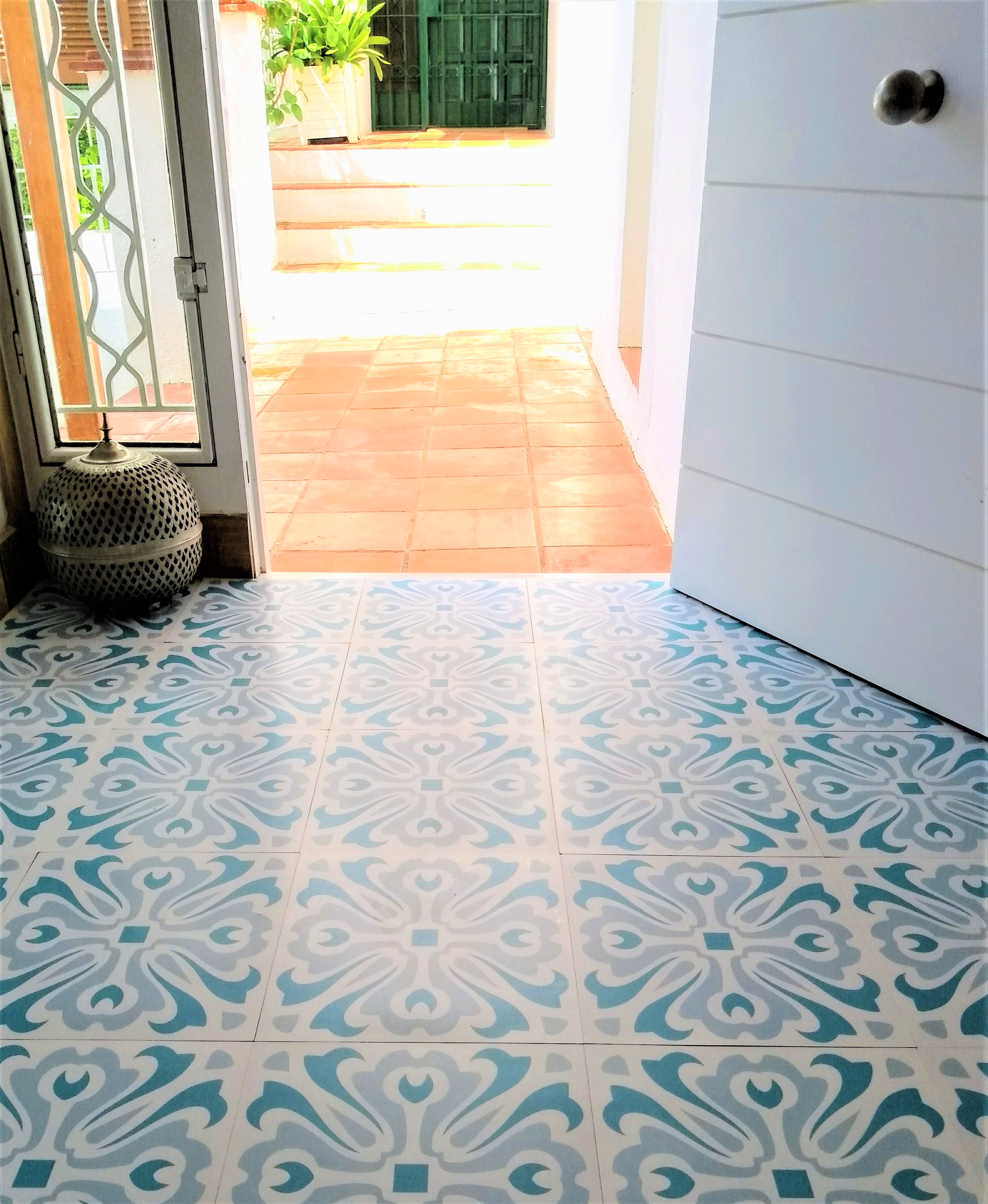 Zazous Havana Day Vinyl Floor Tiles