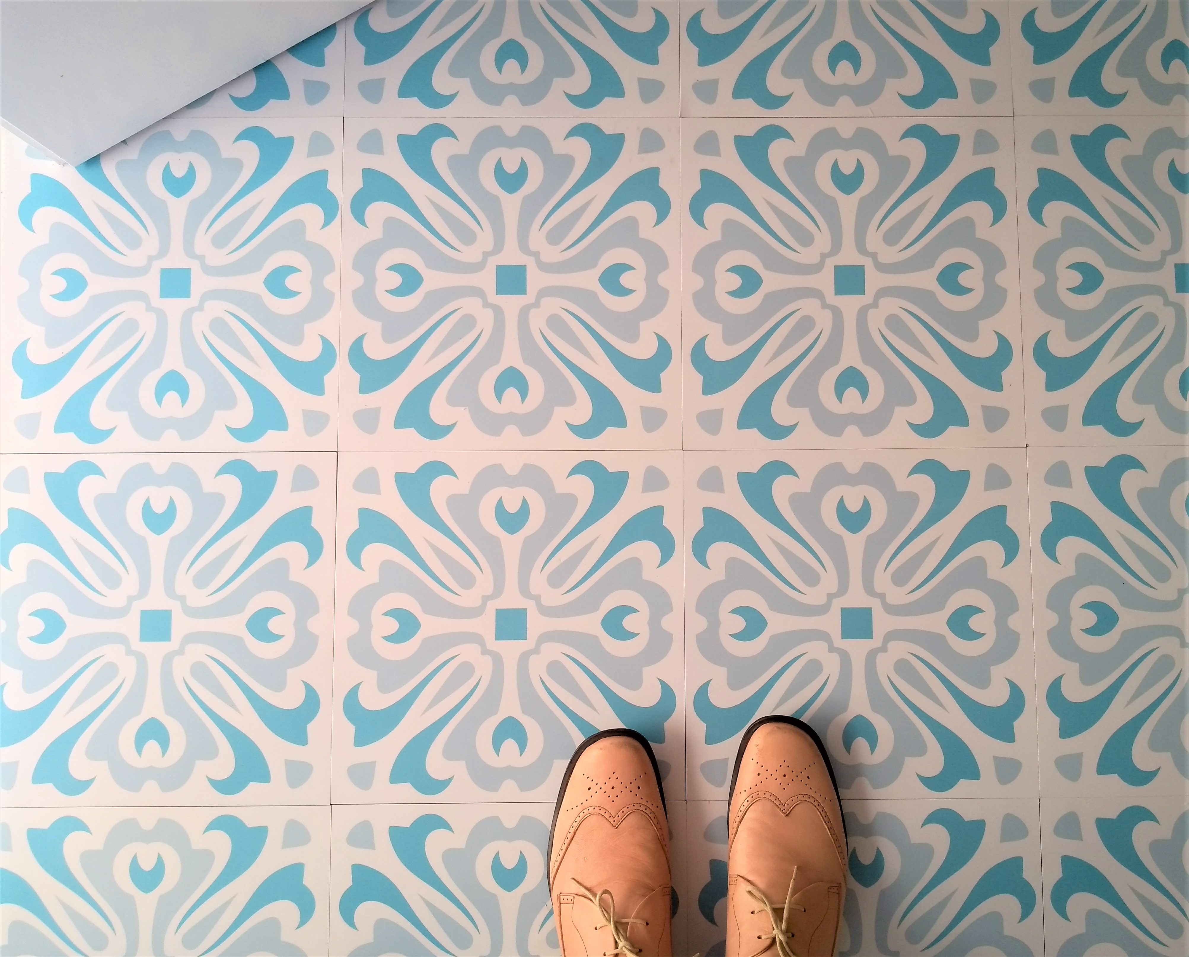 Havana Day Vinyl Floor Tiles Zazous
