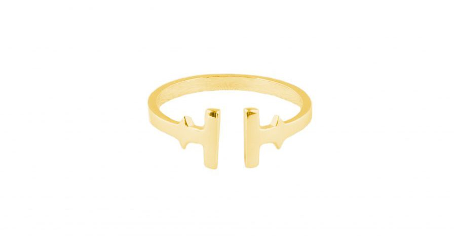 Tissuville Ikon Ring Gold