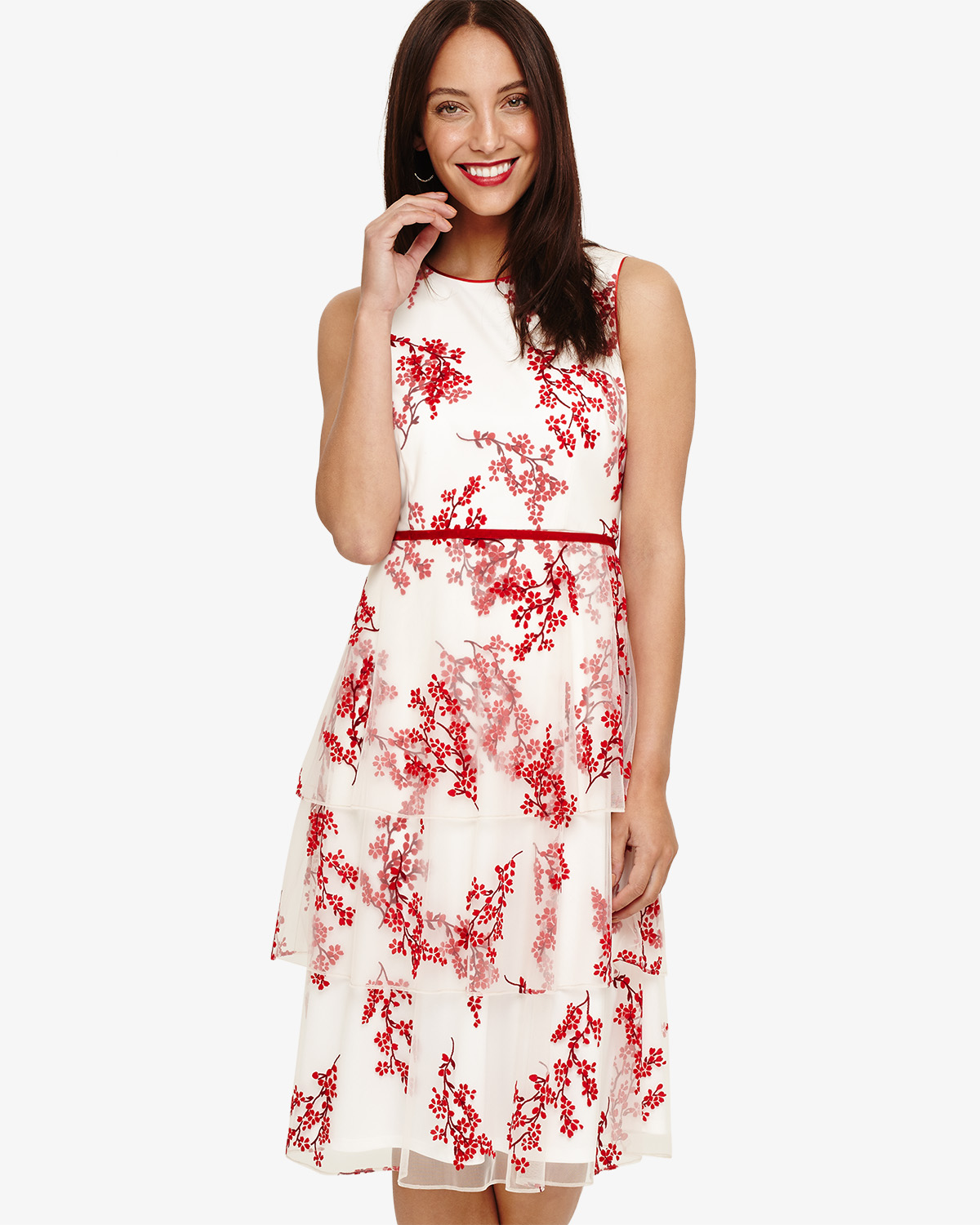 Francine Ditsy Floral Dress Phase Eight