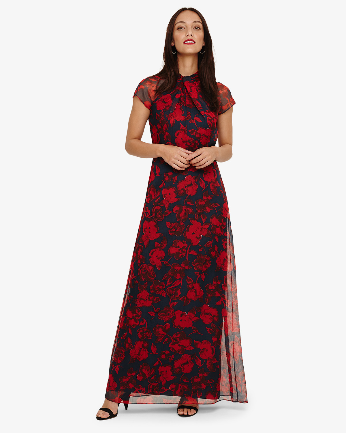 Fredrica Floral Maxi Dress Phase Eight