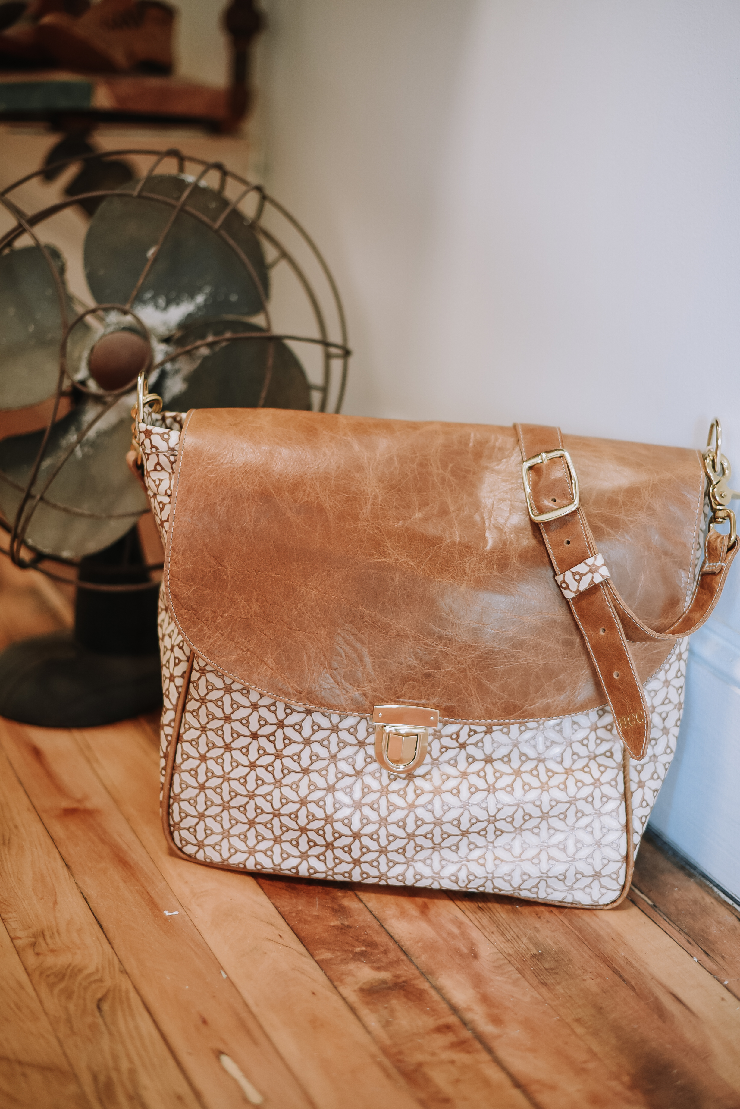 Handmade Leather Handbag Blythe Leonard