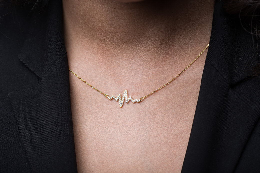Heartbeat Necklace Nikuma Jewellery
