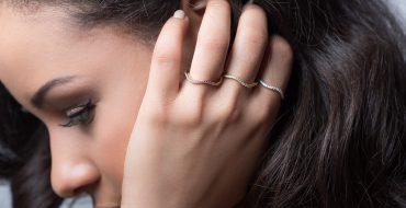 Wave Rings Set Nikuma Jewellery