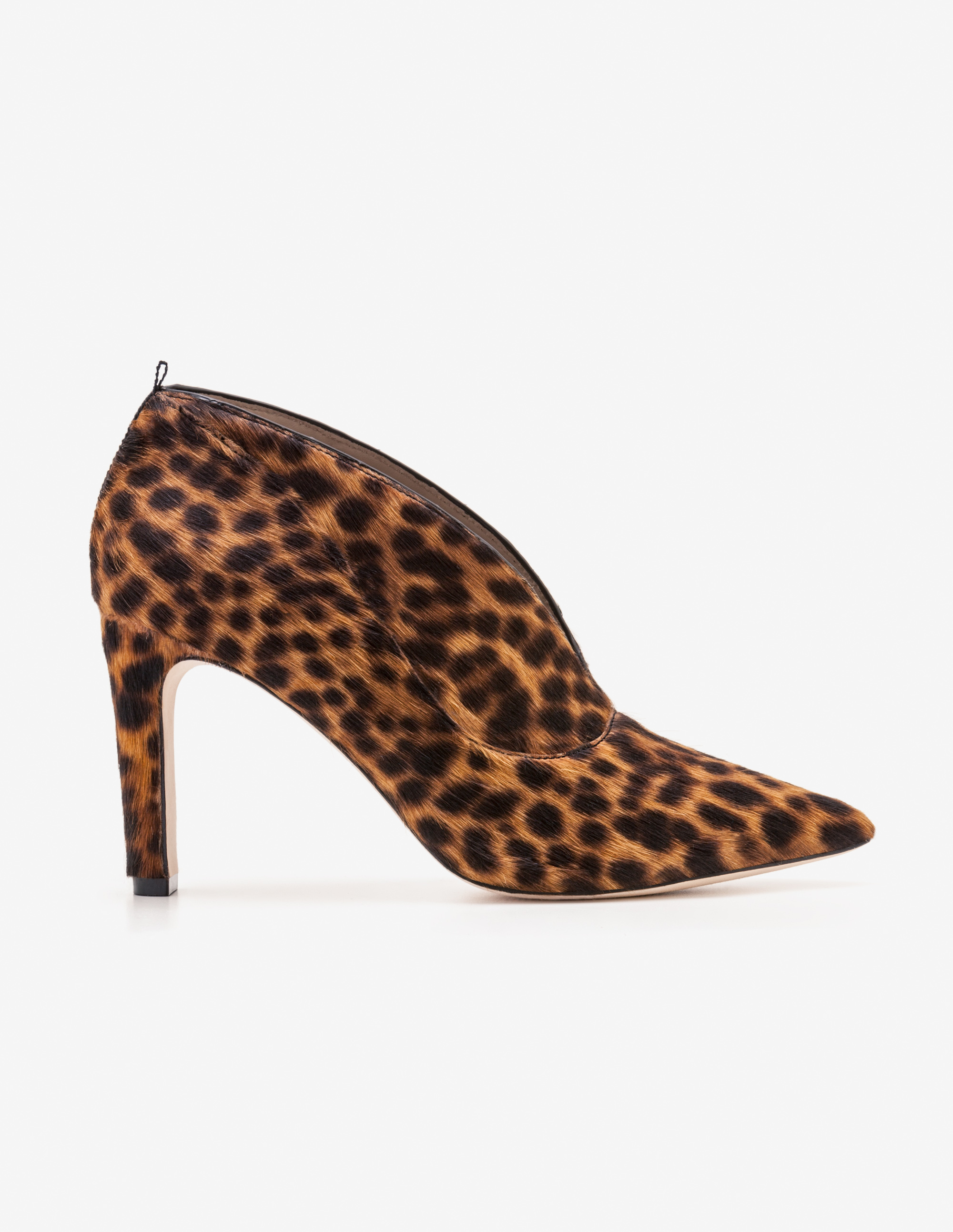 Boden Roseberry Heeled Ankle Boots Leopard Print