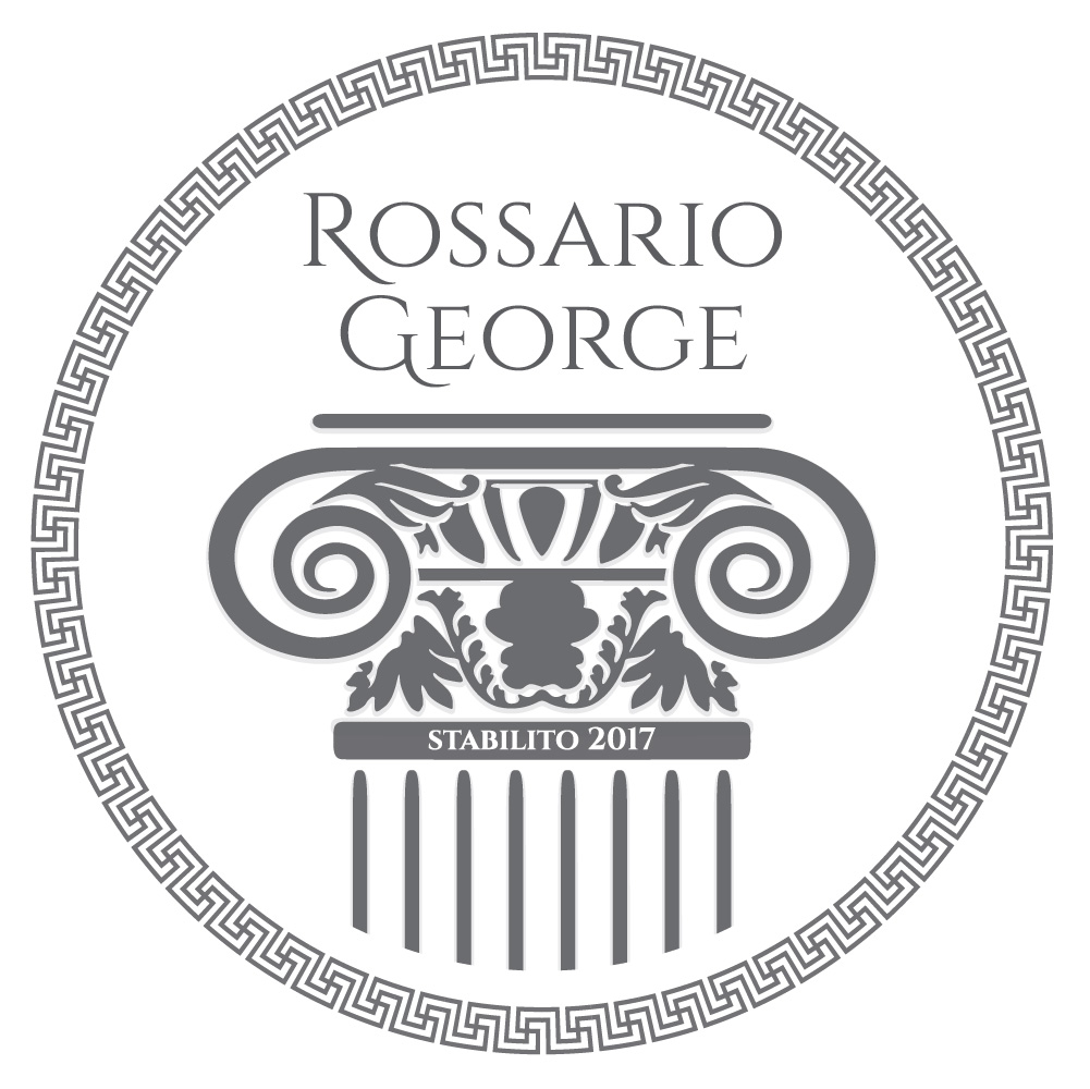 Rossario George Fashion Label Logo