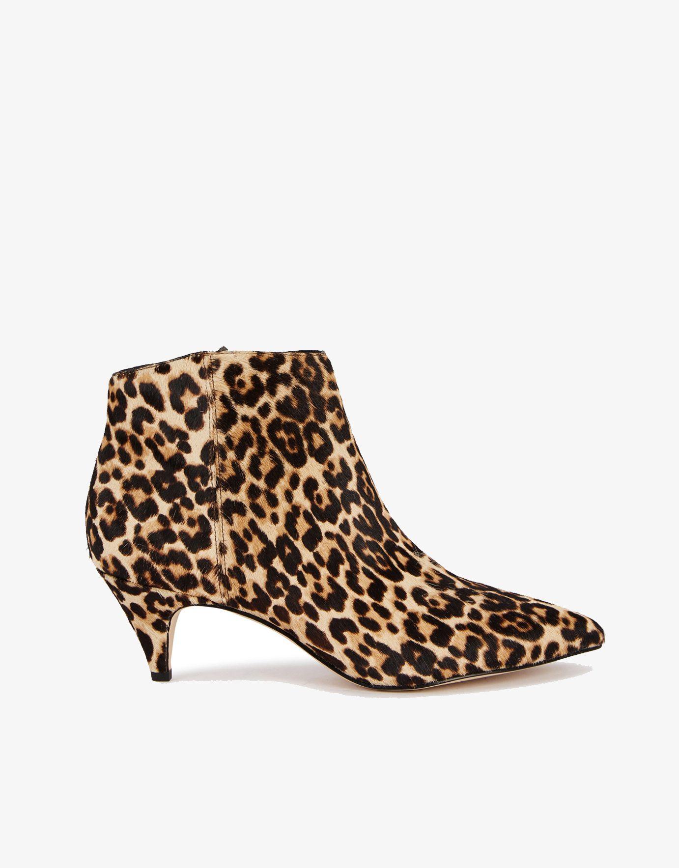 Sam Edelman Kinzey Leopard Print Boots