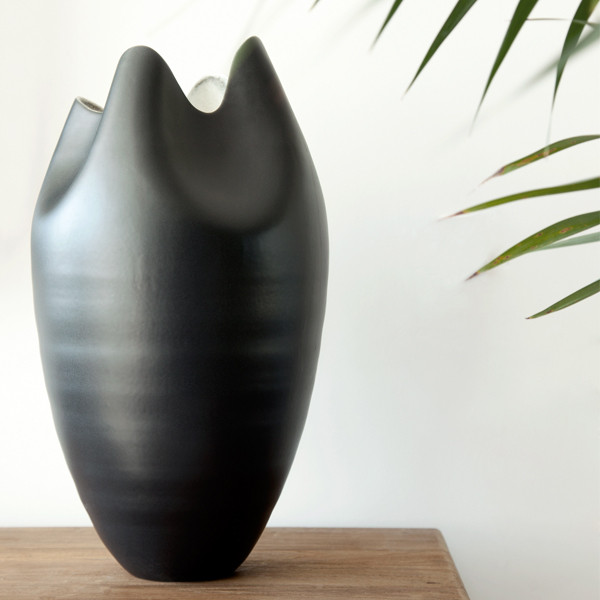Tall Pinched Vase Kelly Hoppen