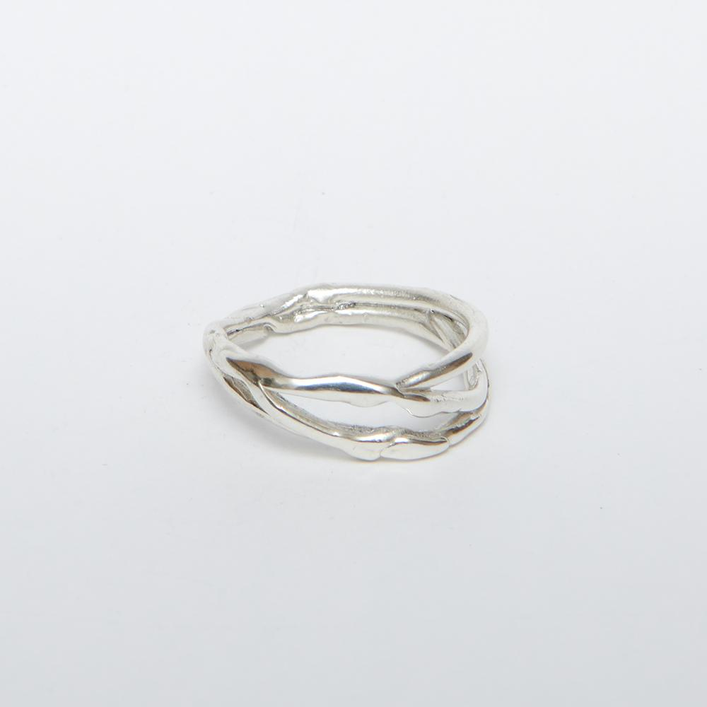 Men's Sterling Silver Alternative Wedding Ring