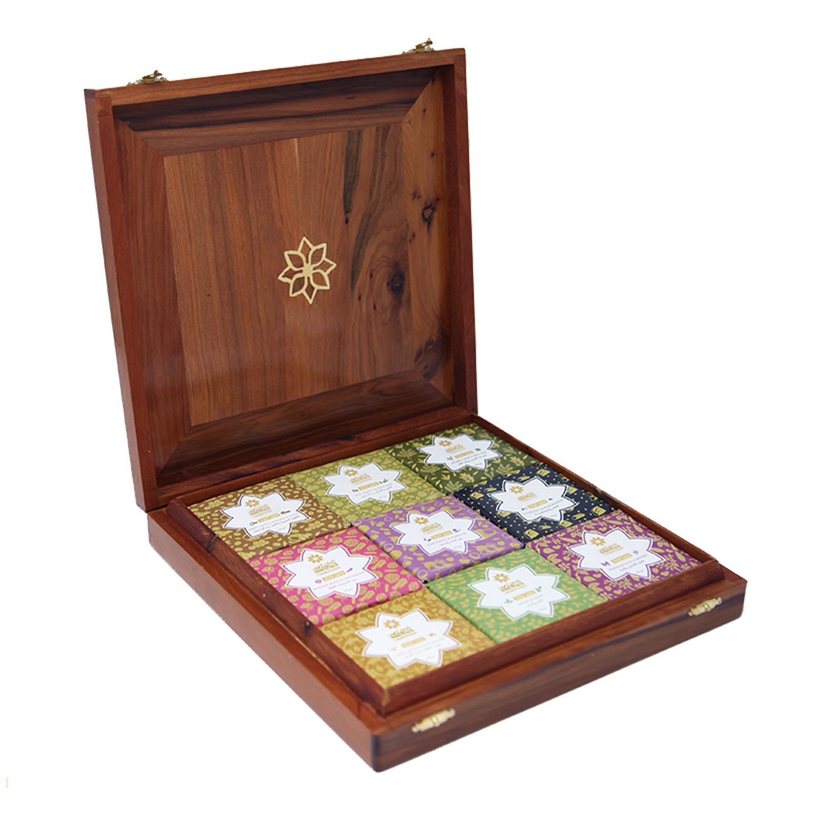 Deluxe Handmade Soap Gift Box