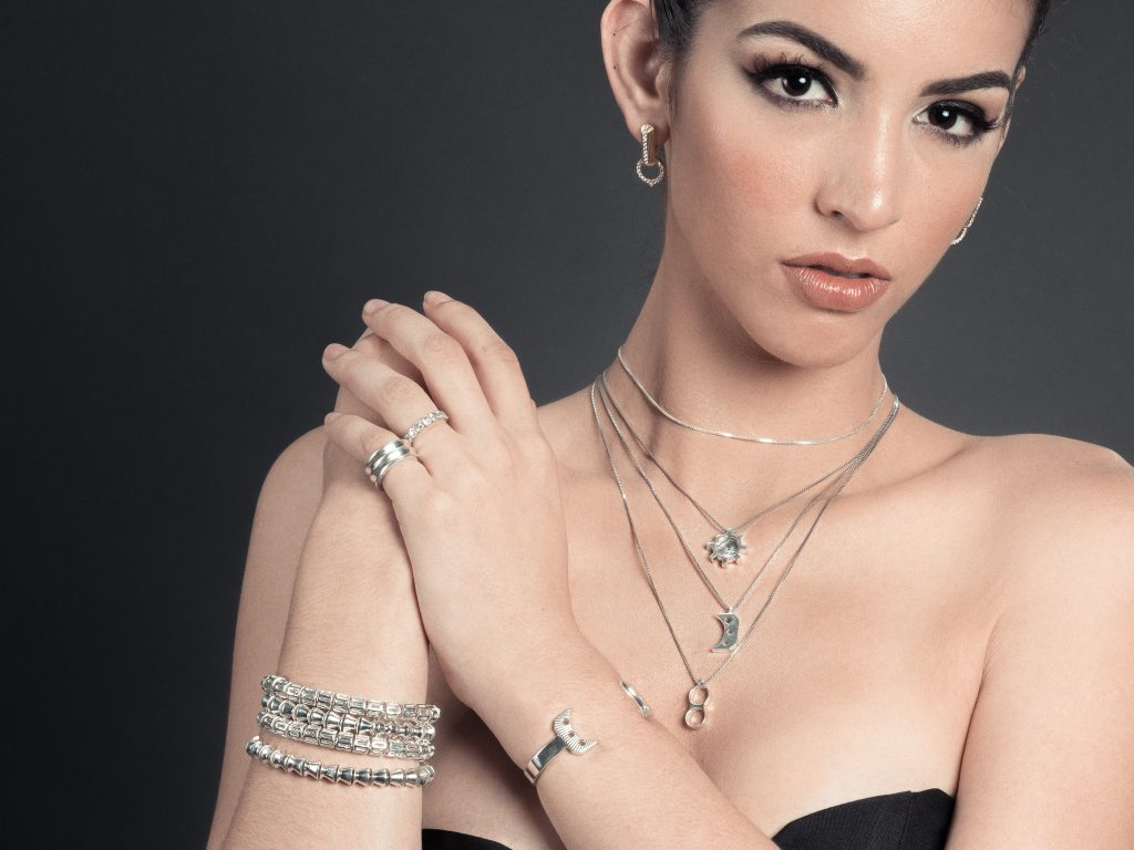 Sterling Silver Jewellery Inspired by Firearms Designs