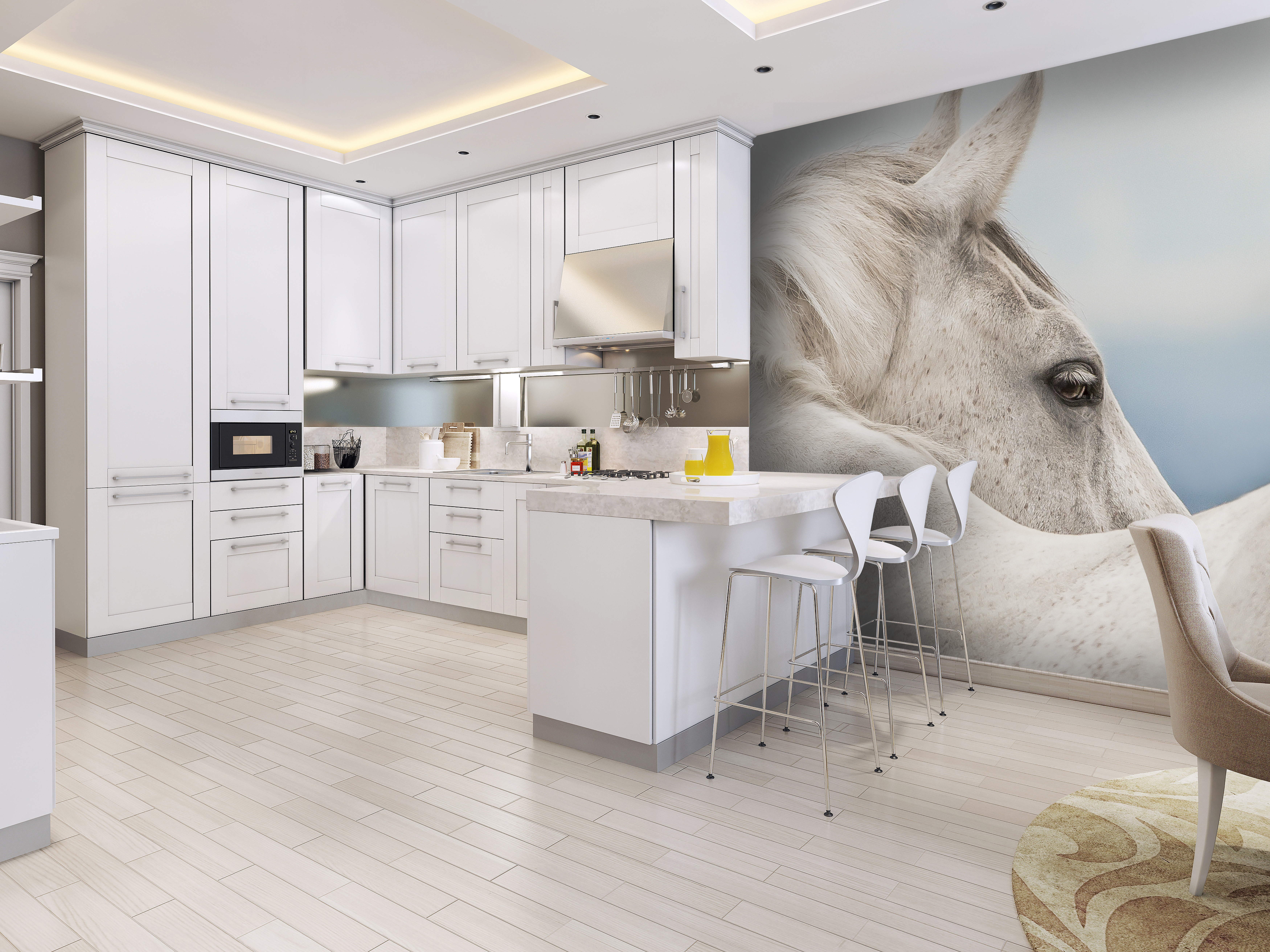 Horse Photographic Wall Art Mural Wallpaper