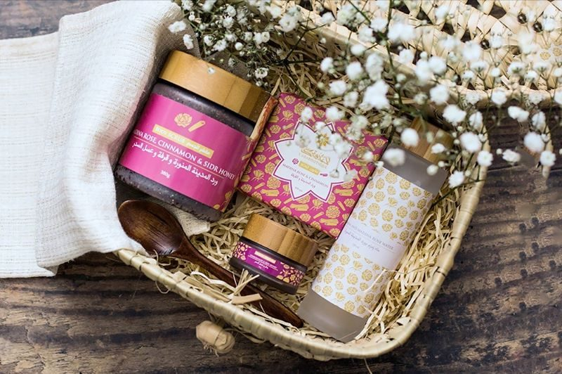 l'Araboutique Omani Frankincense And Myrrh Facial Kit