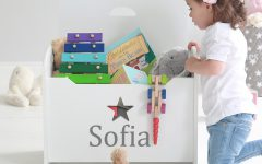 Personalised Star Children's Toy Chest