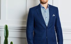 Men's Tailored Shirt and Suit Jacket