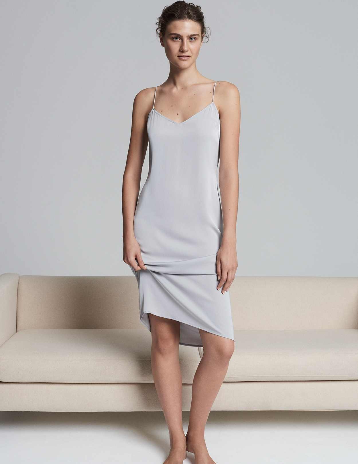 Silk Slip Dress Nightwear